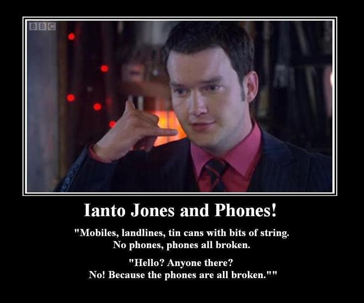 Torchwood's Ianto being funny whilst getting straight to the point.