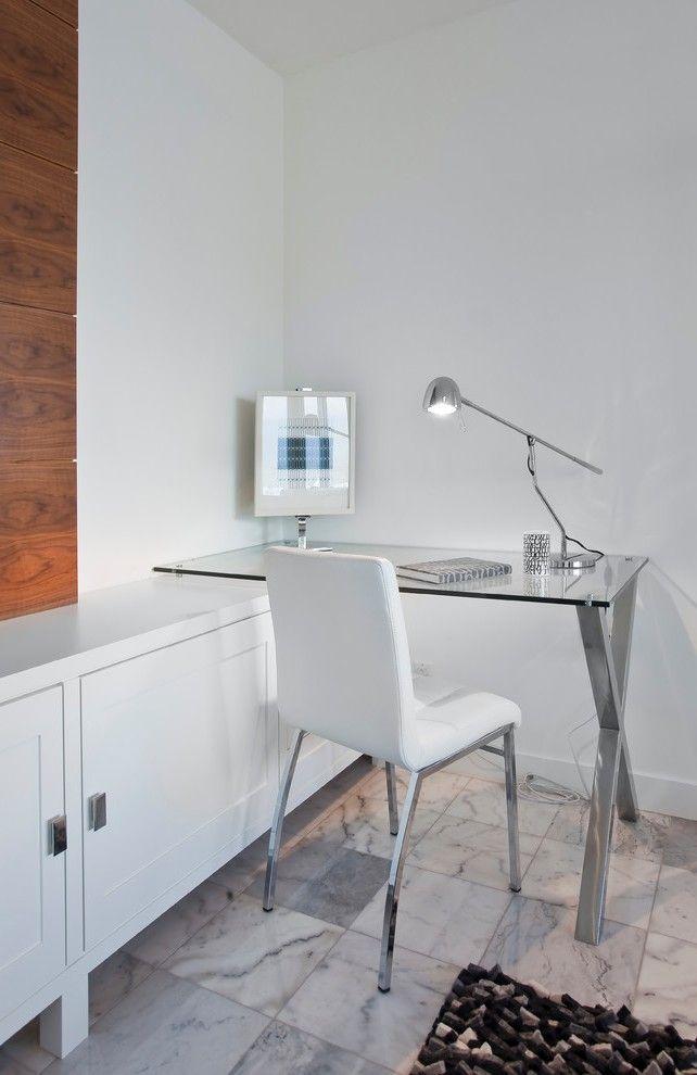 modern corner desk bedroom with platform bed contemporary picture frames - Desk Contemporary Design