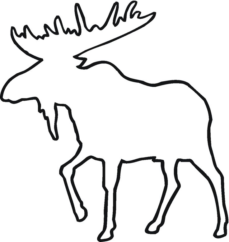 It is a photo of Crafty Moose Template Printable