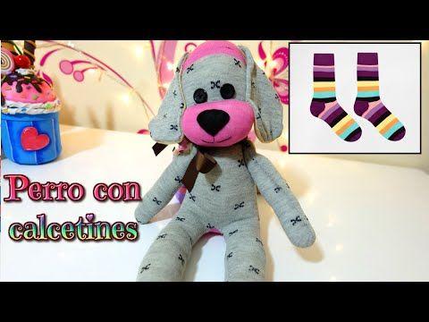 #Sorteo Muñecos con calcetines, tutorial perro hecho con medias- Isa ❤️ - YouTube