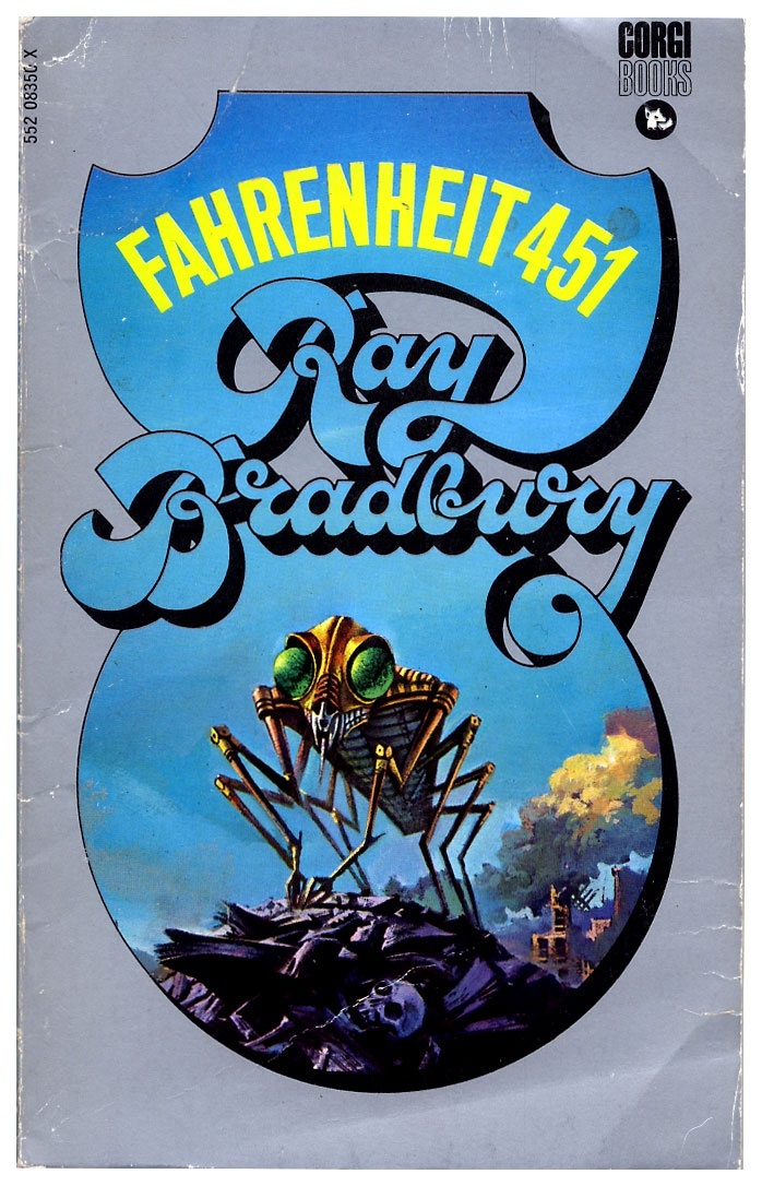 a look at a world with no books as presented in fahrenheit 451 by ray bradbury Review of fahrenheit 451 essay a review of fahrenheit 451 451 how would you like to live in a world where in fahrenheit 451, a book by ray bradbury.