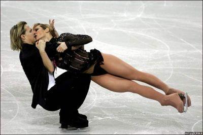 Bile Artistico....patinaje sobre el hielo