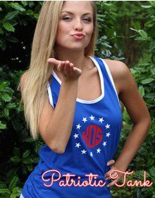 Patriotic Tank Tops - MUST HAVE for July 4th