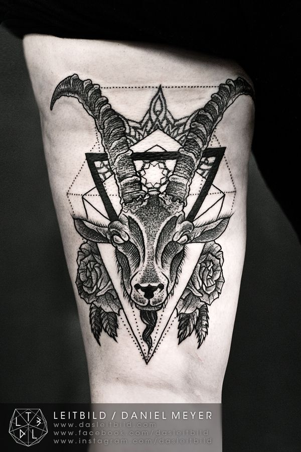 Best Capricorngoat Tattoo Images On Pinterest Drawings - Best capricorn tattoo designs meanings men women
