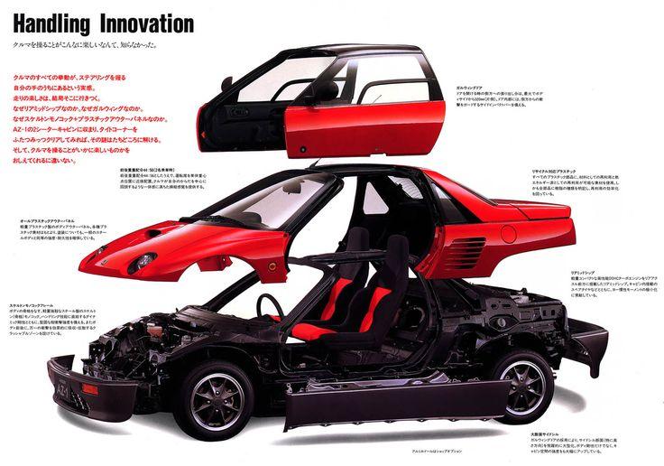 Mazda Autozam AZ1 Gullwing