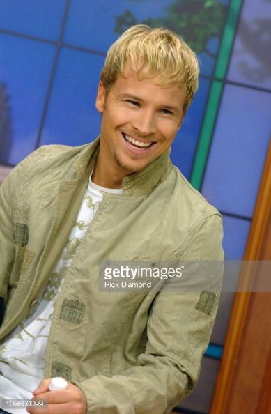Brian Littrell during Brian Littrell Visits 'Good Morning Atlanta' To Promote His Album 'Welcome Home' May 2 2006 at FOX 5 Studios in Atlanta Georgia...
