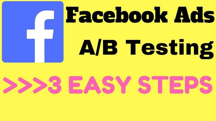 Facebook Ads Split Testing in 3 Easy Steps - Simple Facebook Ad Split Te...