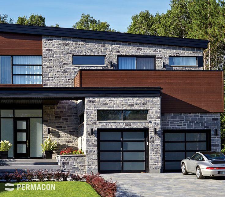 22 best images about exterior house on pinterest - Facade de maison moderne ...