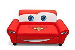 Delta Children's  Products Disney Pixar Cars Upholstered Sofa