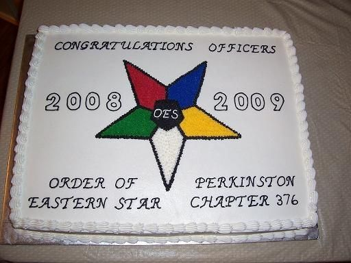 Eastern Star Cake Order Of Eastern Star Cake Other