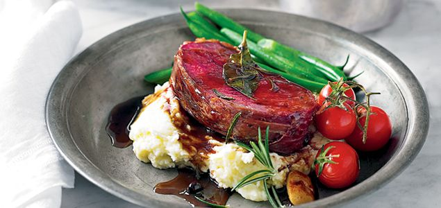 This summer, make your table spectacular with this sumptuous juniper-marinated venison roast.