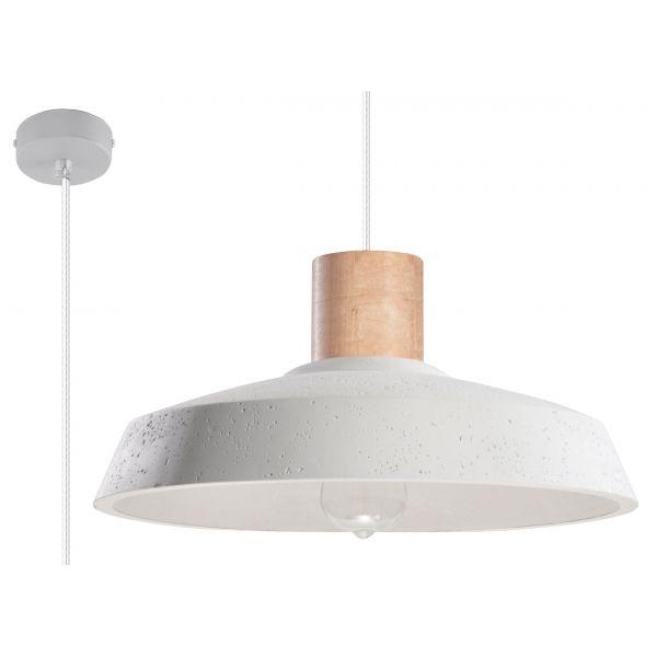 Betonowa Lampa Sufitowa Wisząca AFRA Loft Zwis – Sklep Lampex