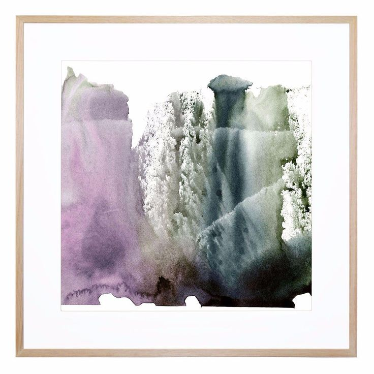 Inspired by frost-tipped cliffs, this innovative, abstract composition is a…