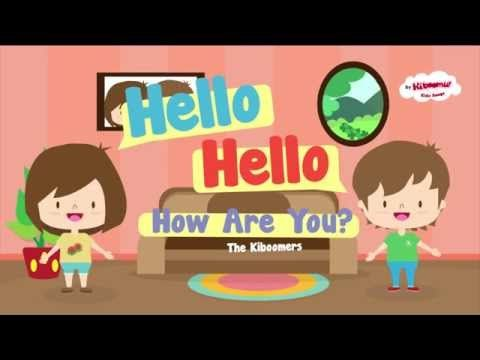 Hello How Are You | Hello Hello Song for Kids - YouTube
