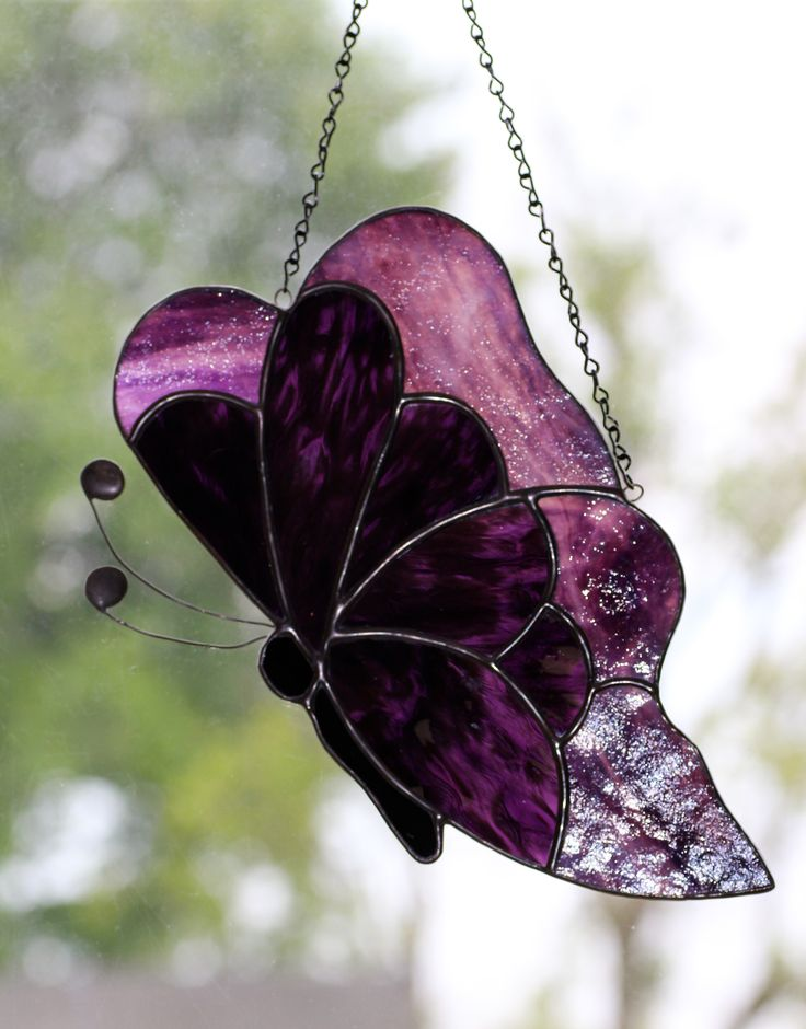 159 best images about stained glass butterflies on for Butterfly stained glass craft