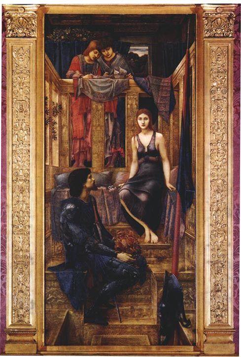 King Cophetua and the Beggar Maid, by  Edward Coley Burne-Jones (UK, 1833-1898)