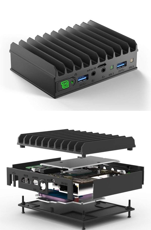 MintBox Mini 2 Pro: Fanless Mini Linux PC | tech fwd | Mini