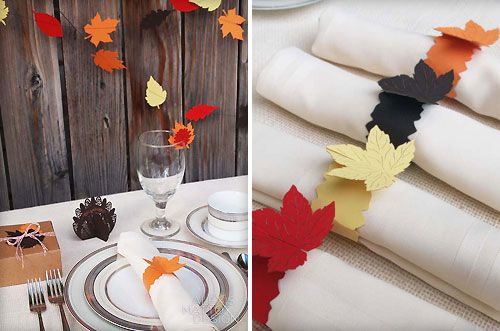 Paper thanksgiving decorations - photo#5