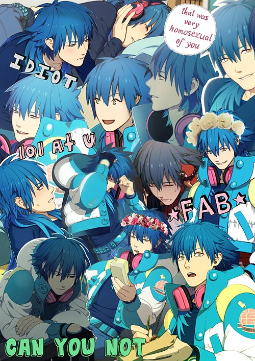 DRAMAtical Murder Aoba Wallpaper | Collage