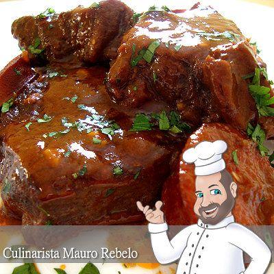 Mauro Rebelo: Carne na Pressão