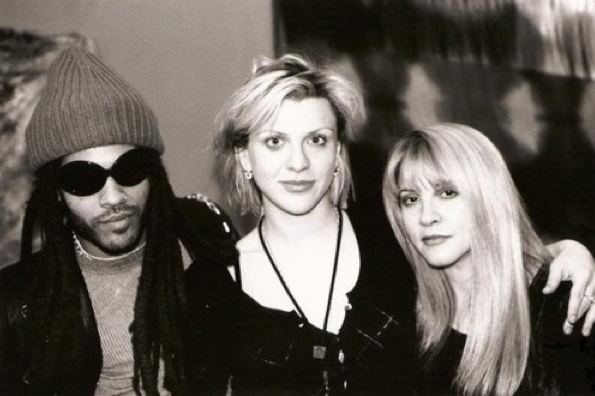 Lenny Kravitz, Courtney Love, & Stevie Nicks