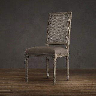 Restoration Hardware Vintage French Cane Back Chair To Go With Restoration Ha