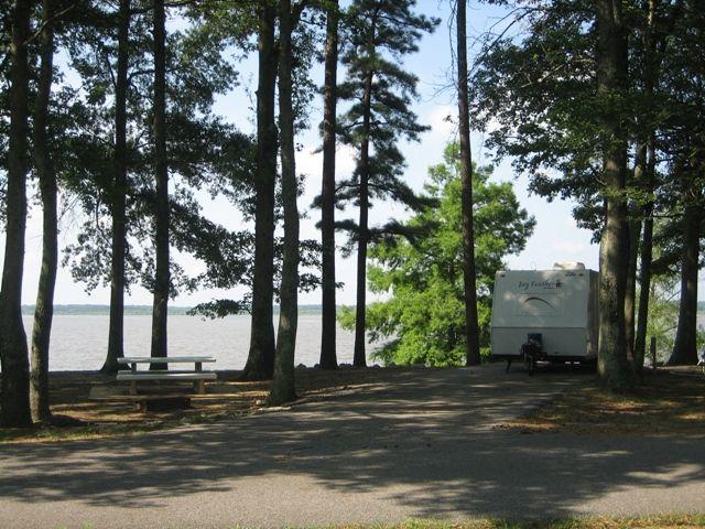Arkabutla Lake In Northwest Mississippi Has Three