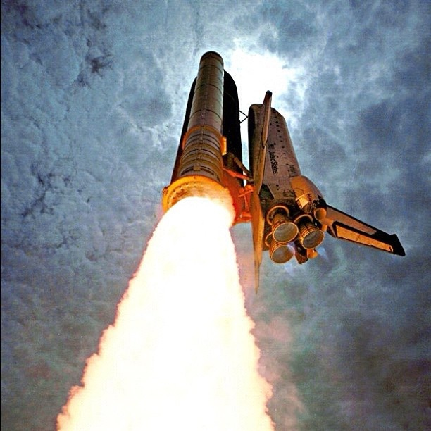 The one and only - the Space Shuttle.