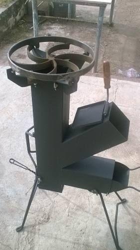 M s de 25 ideas fant sticas sobre estufas cohetes en for Planos para cocina cohete