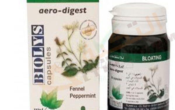 دواء ايرو دايجست Aero Digest كبسول يكون له تأثير إيجابي لتسهيل عملية الهضم فإن بعض الأشخاص ي عانون من مشاكل في الهضم مما يجعل المعد Peppermint Fennel Capsule