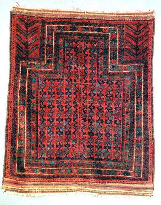 This Timuri prayer rug was woven about 1850 in Afghanistan and is in very good condition. 4x5. Your price is only $3995
