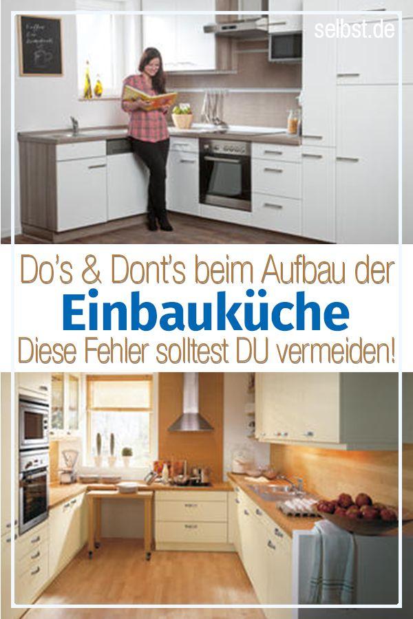 Einbauküche selber bauen | Küche renovieren | Kitchen Cabinets, Home ...