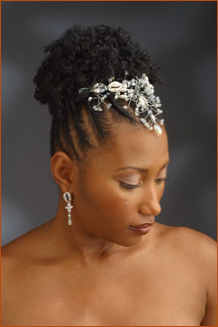 Black Natural Hairstyles For A Wedding : 75 best wedding hair styles images on pinterest