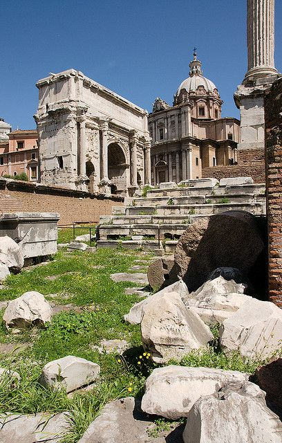 Forum: Arch of Septimius Severus, Rome