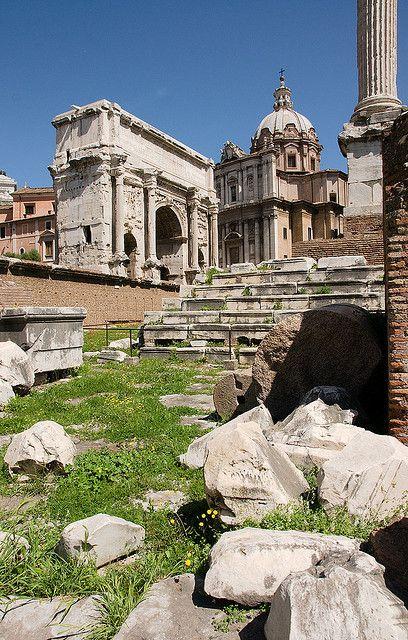Forum: Arch of Septimius Severus, Rome