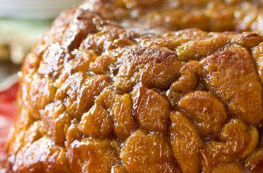 Drunken Monkey Bread Recipe---with Amaretto---YUMMMMM!!!!!