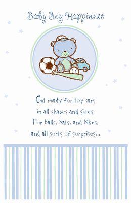 Printable Card: U0027Itu0027s A Boy!u0027 Baby Shower Card MessageBaby Shower CardsBaby  Shower GreetingsFree ...