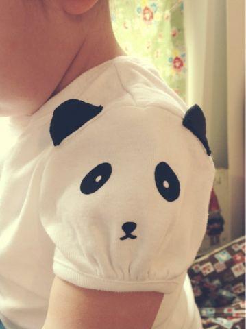 Flocked Panda Sleeve