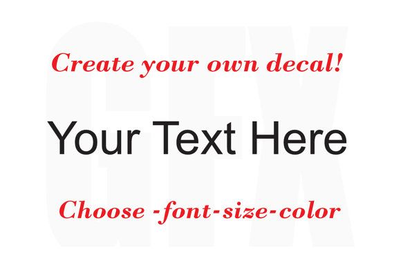 how to create your own truetype font for free