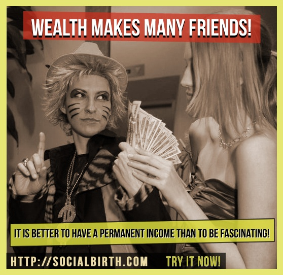 Have a permanent income with us! http://www.socialbirth.com