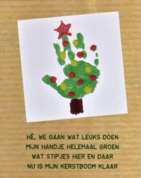 Afbeeldingsresultaat voor kerstkaarten knutselen met peuters