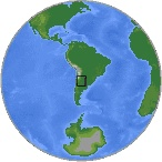 On Friday, February 22, 2013 at 9:01 AM at epicenter (7:01 AM Eastern Standard Time) a 6.1 magnitude earthquake occurred in Santiago Del Estero, Argentina (Lat. 27.993 South, Lon. 63.195 West). The depth of the seismic event was at a depth of 585.8 km (364.0 miles). Location of epicenter was approximately 28 km (17 miles) E of Suncho Corral, Argentina.