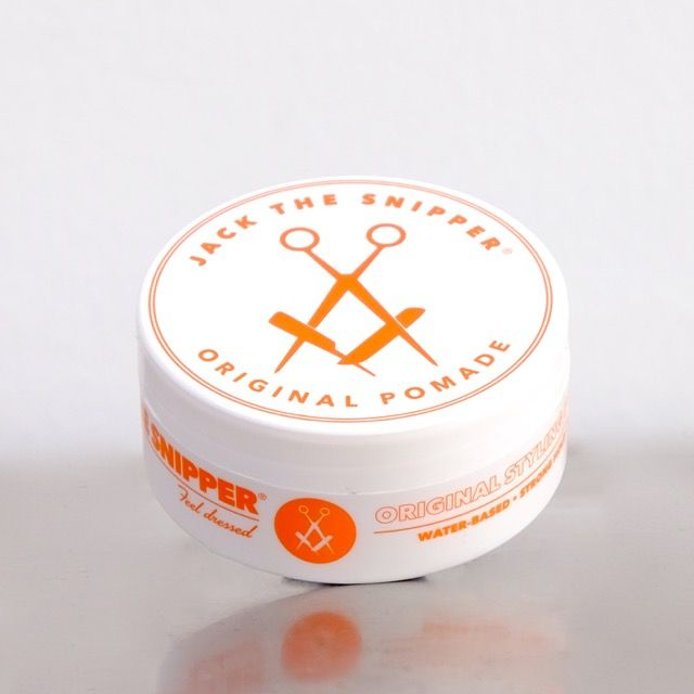 Jack the Snipper's Original Hair Pomade. A water-based men's Hair styling and mens grooming brand from Byron Bay, Australia. Want great a hair style? Think Jack the Snipper.