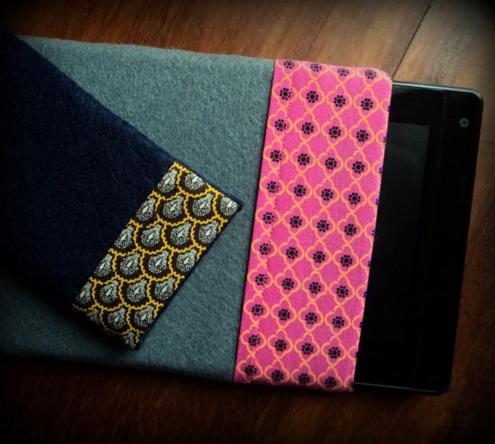 iPad iPhone Notebook - Handmade Shweshwe Sleeve For Iphone / Ipad / Mini  http://www.ezebee.com/page/msquaredsa