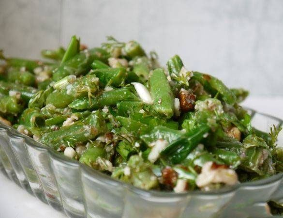 Салат из фасоли стручковой