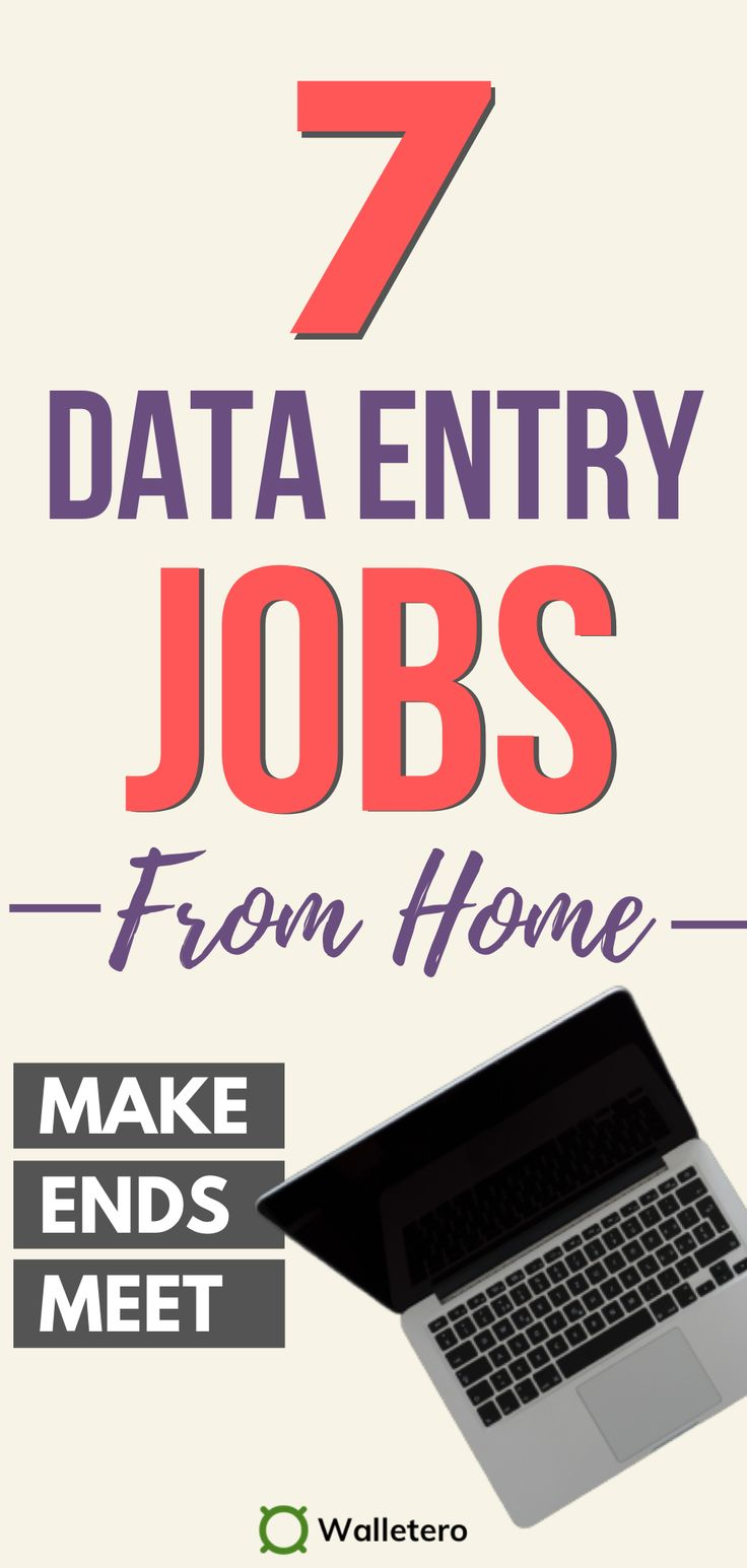 7 Data Entry Jobs Online (Work And Earn From Home) in 2020