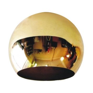Comprar | Pantalla metálico dorado brillante 140mm | Pantalla dorado brillo  #iluminacion #decoracion #accesorioslamparas #lamparas #accesoriosiluminacion #fabricartulampara #handmade
