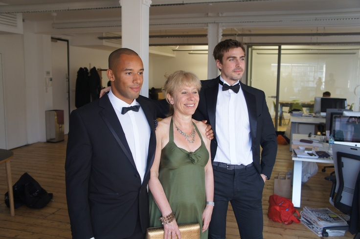 Gill and Henry off to CIPR Awards with Olympic sprinter James Ellington