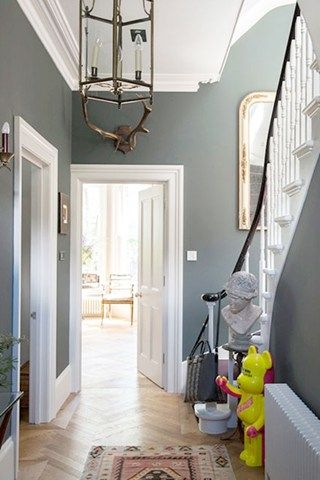 My continued quest for the right shade of #greypaint. Unique ways to make your hallway a stylish room of its own.