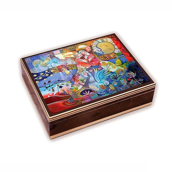 "Jewellery Box with Melody playing "" Cats Memory"""